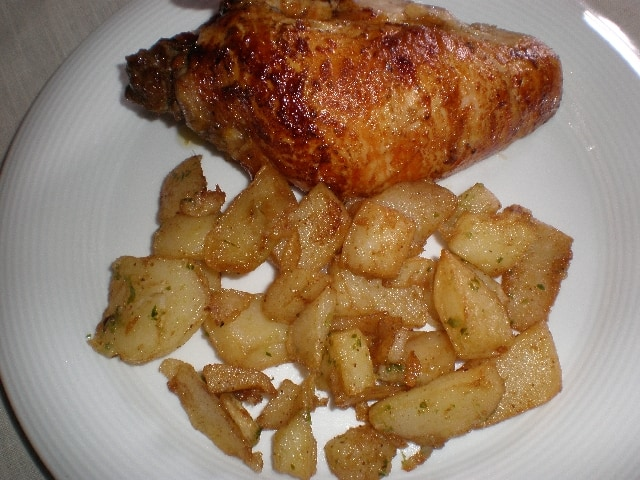 Pechugas de pollo asadas