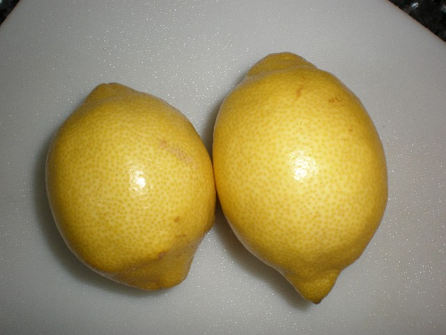 Limones - ▷ Burro al horno ?