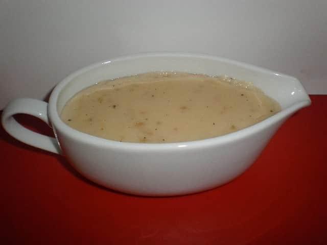 Bechamel de cebolla 1 - ▷ Gambas con espinacas y bechamel 🦐 🍃