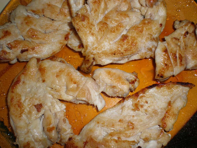 Pechugas de pollo asadas con miel de romero