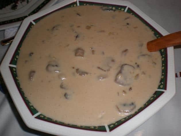 Salsa de setas y champiñones