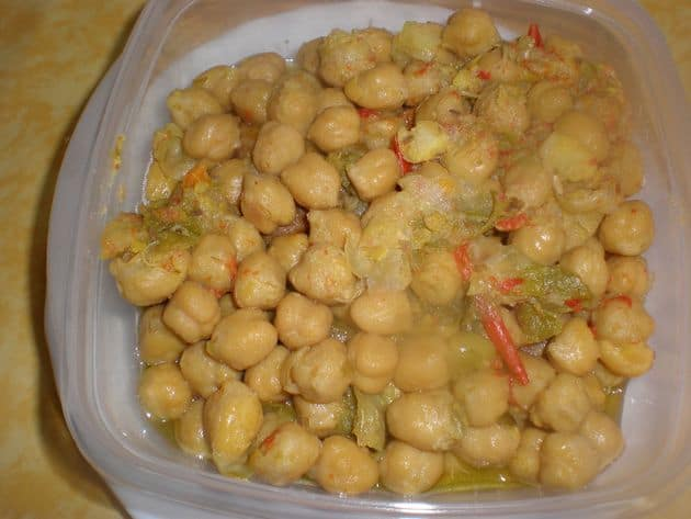 garbanzas escurri - ▷ Garbanzas hervidas 👩‍🍳 🍲