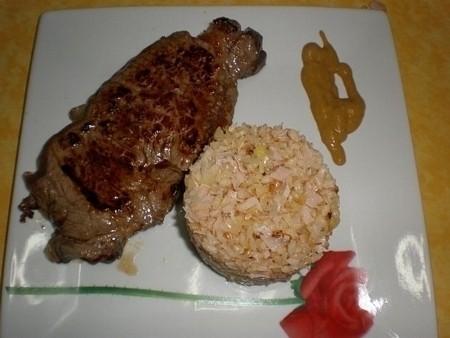5778877be1a35482f319be586a4e5dc3 - Entrecot de buey, con salteado de arroz