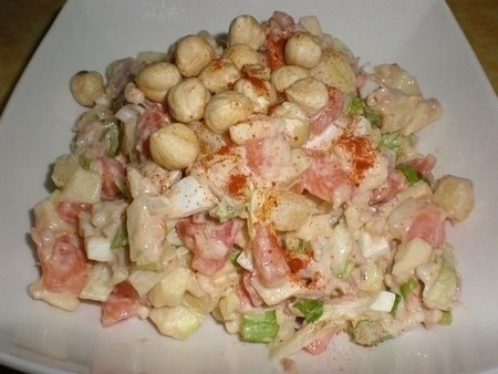 c54cd01619725a4dabebc35be504cd7b - Ensalada de arroz, con avellanas