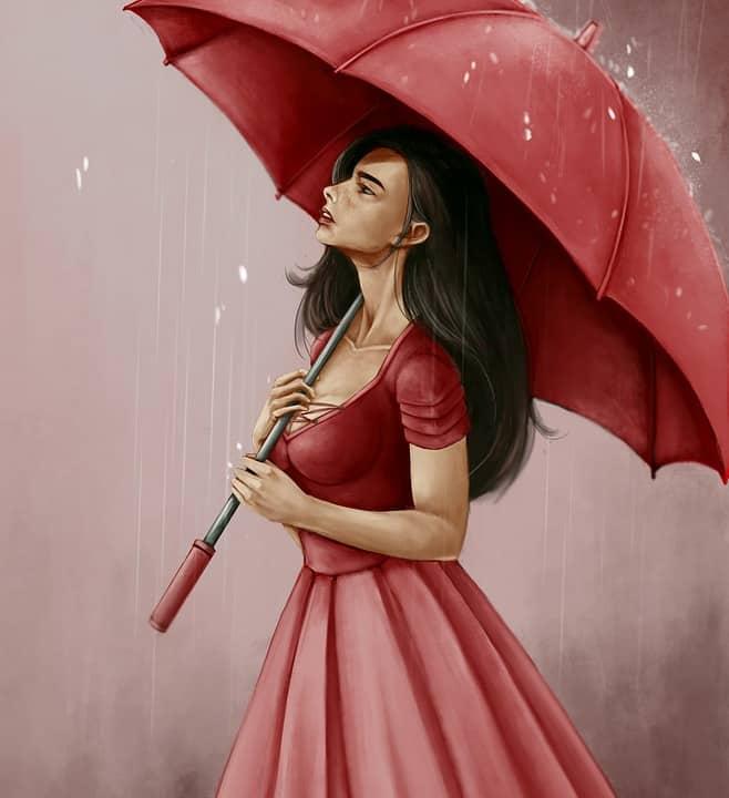 Hoy está lloviendo