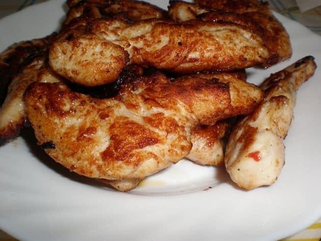 09dad4a644cf4e7edd2e0dd7a337d51f - Lomitos de pollo, con pimienta de colores