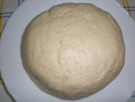 Masa hecha - Pizza de verdura y huevo
