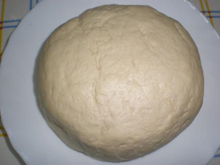 Masa hecha - Pizza Santiago