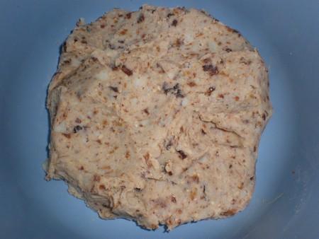 Relleno de batata para las caracolas