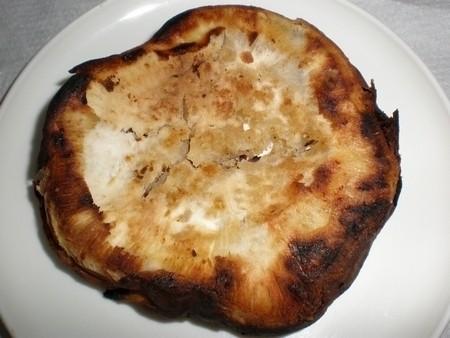 Batatas asadas en barbacoa