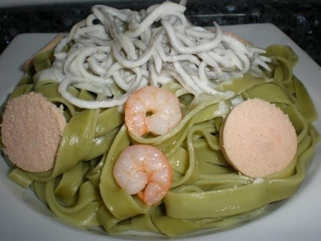 4257b68e3c09bb55a21ec1fdaf244443 - Pasta nidos con sabor profundo a mar