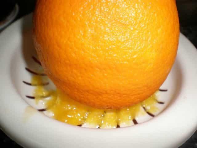 Exprimir la naranja