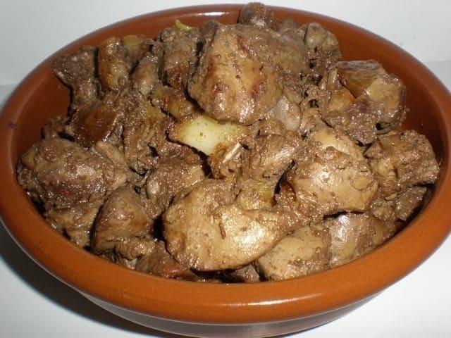 405e59180030ae66e24f222c655b3e31 - ▷ Hígado de pollo al Jerez 🐓 🍷