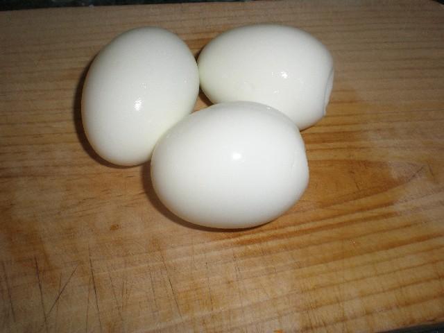 Huevos sancochados