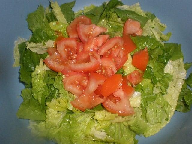 Leguga y tomate - Ensalada de pera limonera