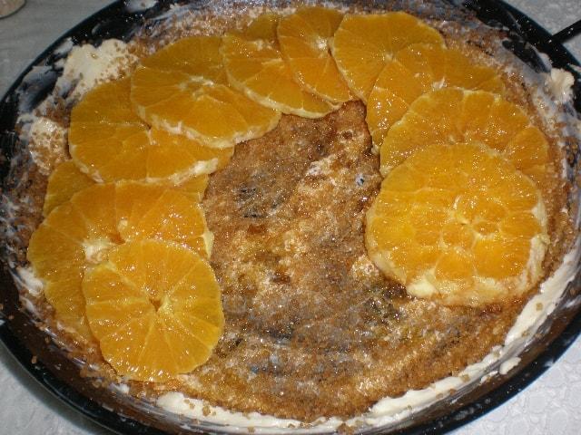 Elaborar la tarta tatin de naranja