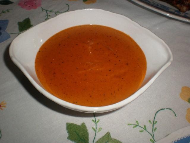 Salsa de fondo de verdura