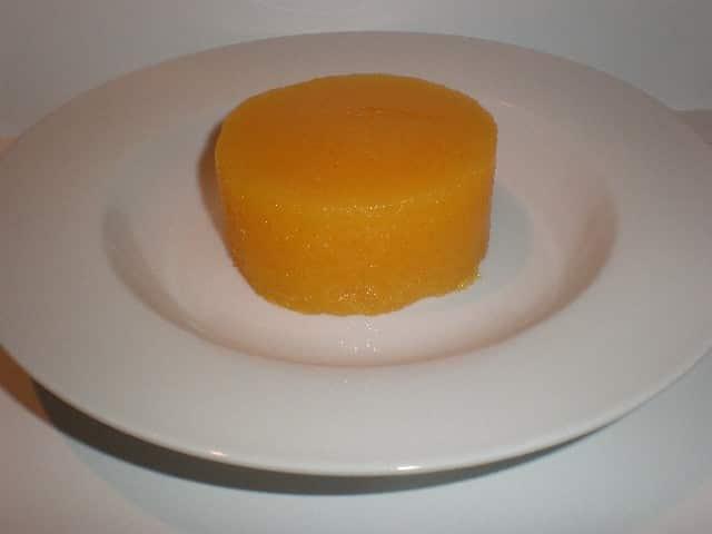Centro de corona - ▷ Corona de gelatina de mandarinas ?