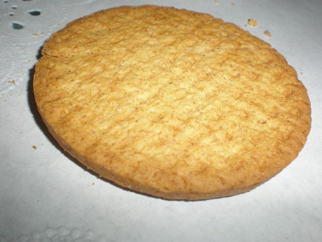 Galleta digestive sin azúcar
