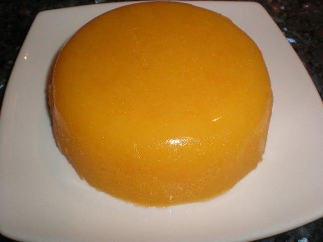 Gelatina en bandeja - ▷ Corona de gelatina de mandarinas ?