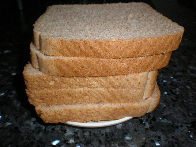 Pan de molde integral sin azúcar