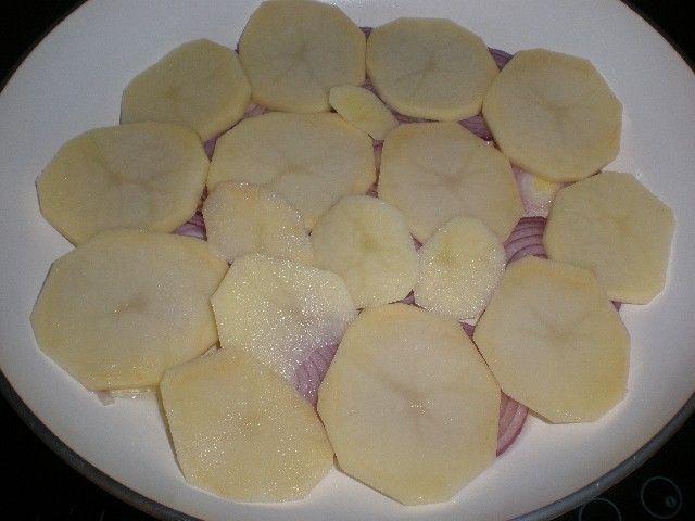 Cebollas y papas