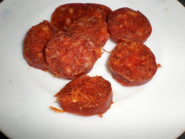 Chorizo - Judías carnavaleras