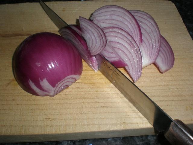 Partir cebolla - Ensalada de espirales