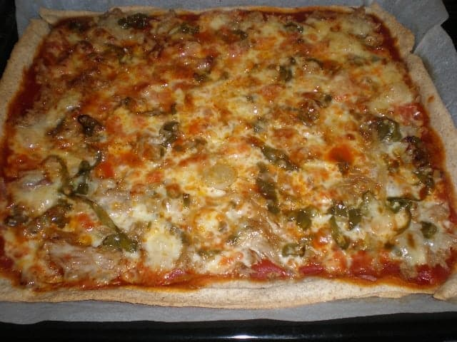 Pizza ovejera - Pizza ovejera