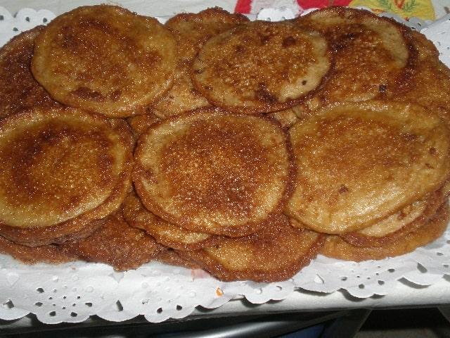 Torrijas de manzana