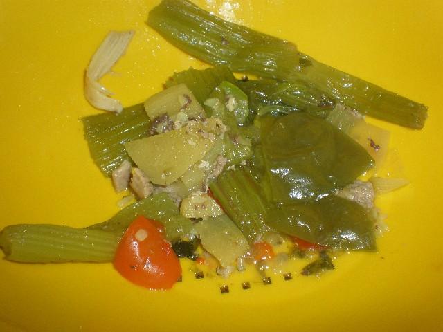Desechar verdura