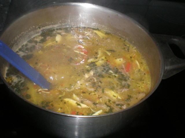 Elaborar la sopa
