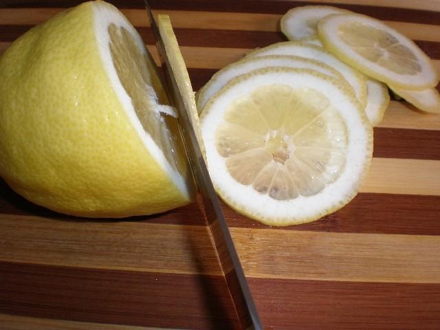 Partir limón