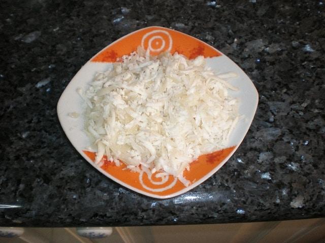 Queso rallado - ▷ Lasaña boloñesa 🥟