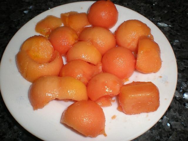 Bolitas de papaya