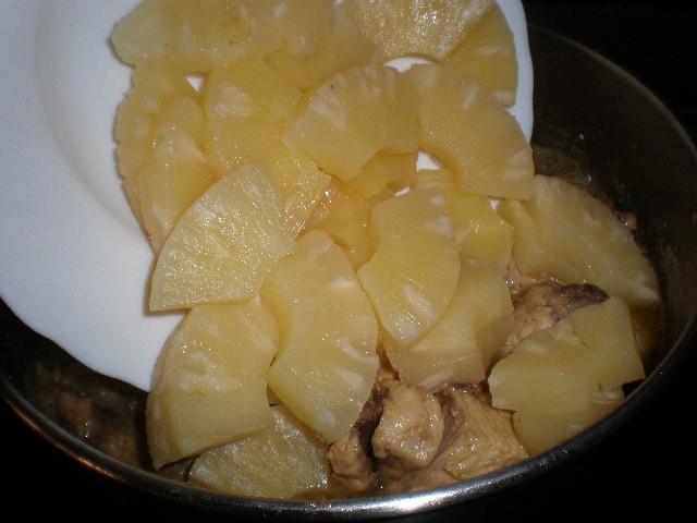 Meter piña - ▷ Pollo Currypiña   