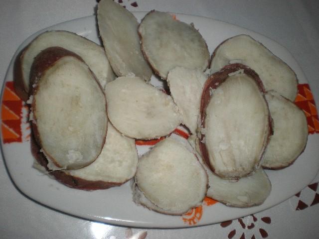 Batatas sancochadas
