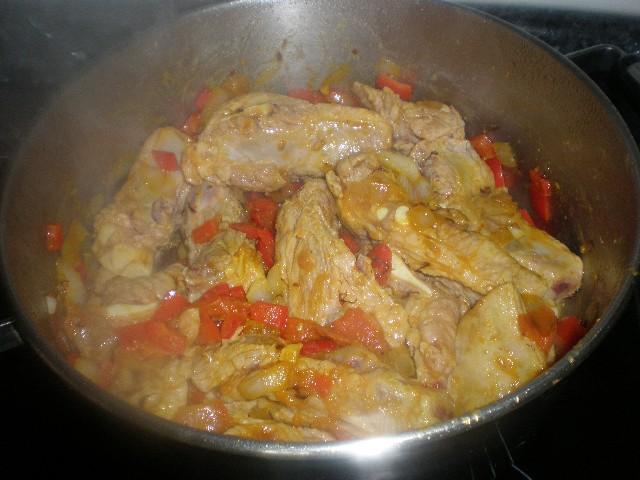 Cocinar costillas de cerdo al romero