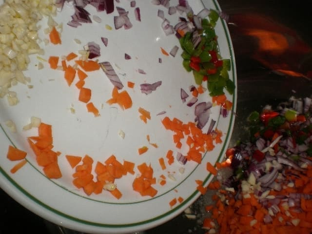 Echar verdura - Pasta de quinoa a los dos pescados
