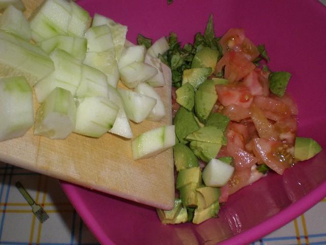 Elaborar ensalada de judía