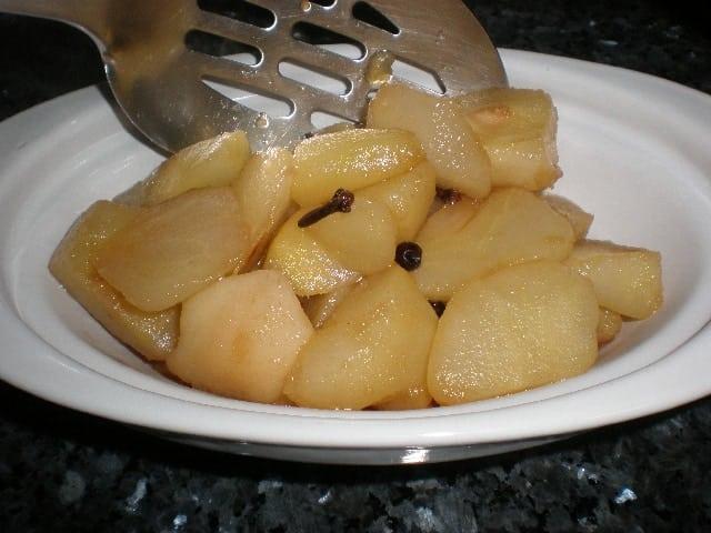 Peras clavo-bayas