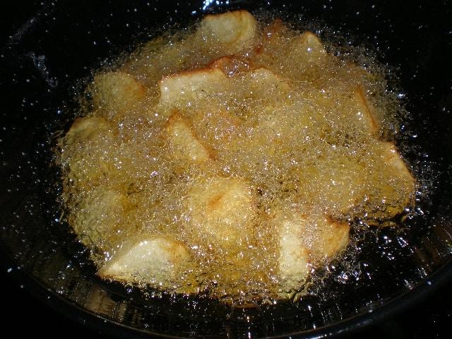 Freír papas