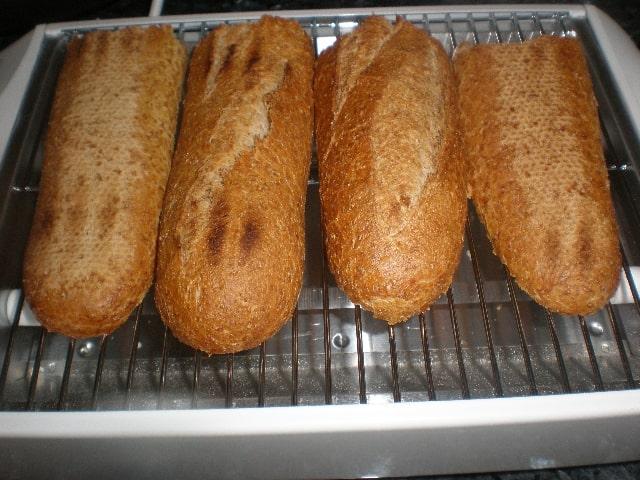 Tostar pan integral