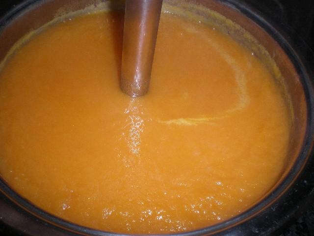 Batir zanahorias
