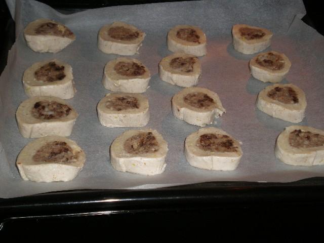 Caracolas en horno