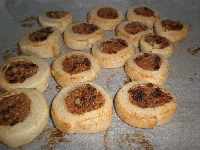 Caracolas horneadas