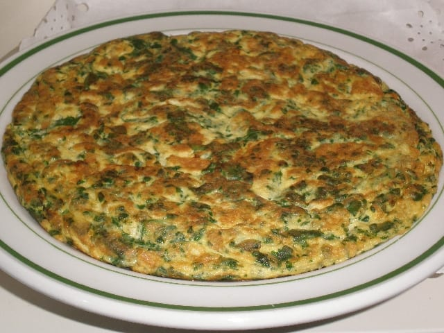 Tortilla de jaramagos