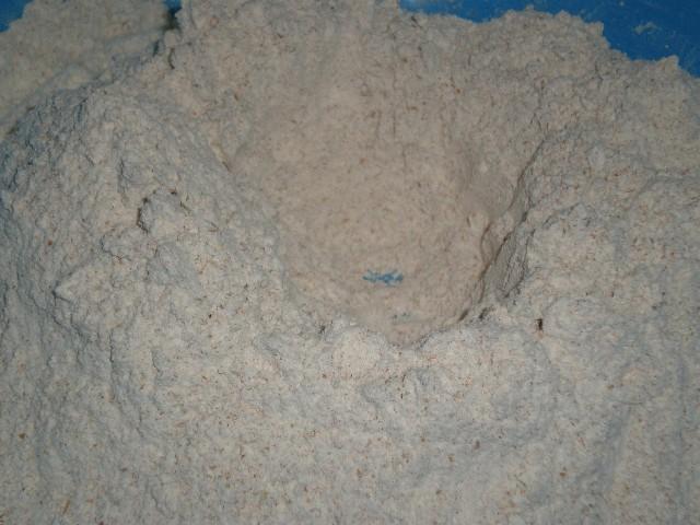 Volcán de harina