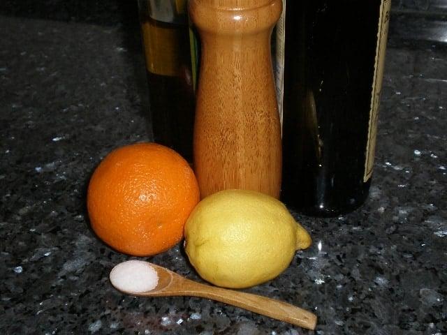 Ingredientes ensalada estacional