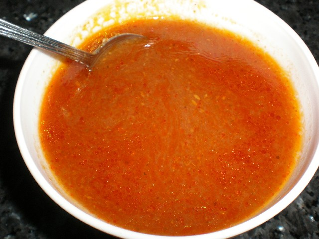 Salsa mezclada